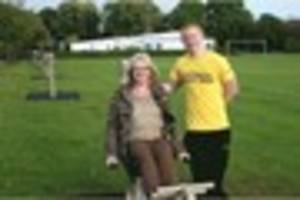 New outdoor gym equipment at Kingston Road Recreation Ground has...