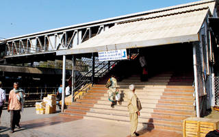 For over a year now, Pune station awaits FOBs, escalators, lifts