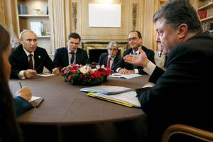 Ukraine, Russia End Gas Talks Without Breakthrough